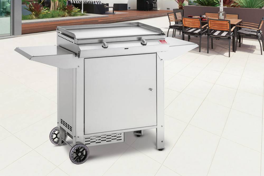 Barbecue a gas da balcone pla net barbecue - Cucina balcone condominio ...