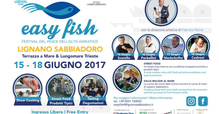 Easy Fish 2017, Show cooking stellati useranno Planet Barbecue!